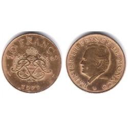 (154) Mónaco. 1979. 10 Francs (MBC)