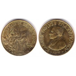 (256) Ciudad del Vaticano. 1994. 200 Lira (SC)
