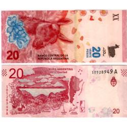 (361) Argentina. 2017. 20 Pesos (SC)