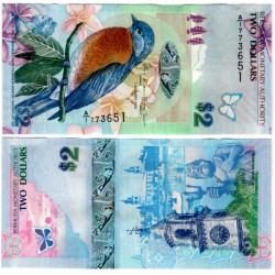 (57b) Bermuda. 2009. 2 Dollars (SC)