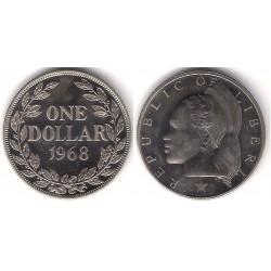 (18a.2) Liberia. 1968. 1 Dollar (SC)