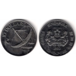 (17.1a) Singapur. 1980. 10 Dollars (SC)