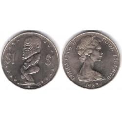 (7) Islas Cook. 1983. 1 Dollar (SC)