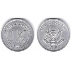 (8) Congo. 1967. 1 Likuta (SC)