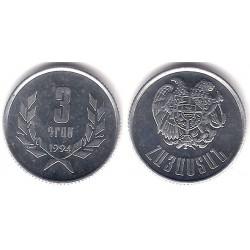 (55) Armenia. 1994. 3 Dram (SC)