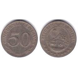 (190) Bolivia. 1965. 50 Centavos (MBC)