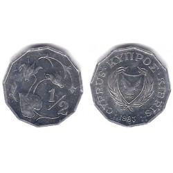 (52) Chipre. 1983. ½ Cent (EBC)