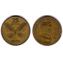 (241.1) Filipinas. 1983. 25 Sentimo (RC)