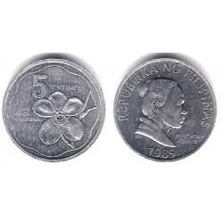 (239) Filipinas. 1989. 5 Sentimos (SC)