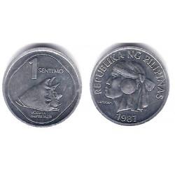 (238) Filipinas. 1987. 1 Sentimo (SC)