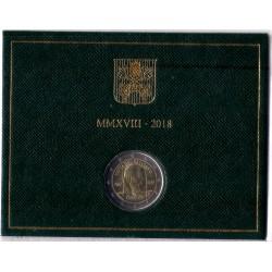 Ciudad del Vaticano. 2018. 2 Euro (SC)