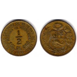 (220.5) Perú. 1953. ½ Sol de Oro (MBC)
