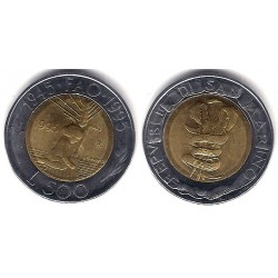 (330) San Marino. 1995. 500 Lira (SC)
