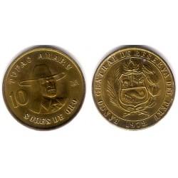 (272.2) Perú. 1978. 10 Soles de Oro (EBC)