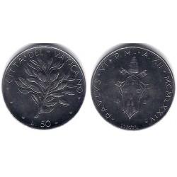 (121) Ciudad del Vaticano. 1976. 50 Lira (SC)