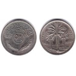 (128) Iraq. 1990. 50 Fils (EBC+)