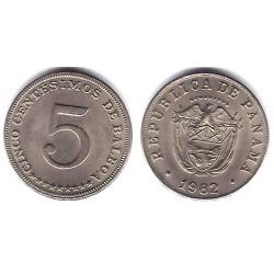 (23.2) Panamá. 1982. 5 Centesimos (SC)
