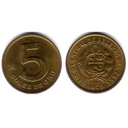 (271) Perú. 1978. 5 Soles (EBC+)