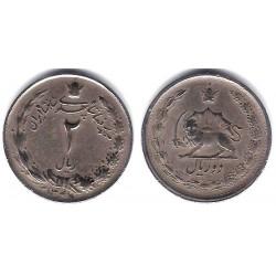 (1173) Irán. 1968. 2 Rials (BC)