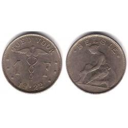 (23) Bélgica. 1922. 1 Franc (MBC+)