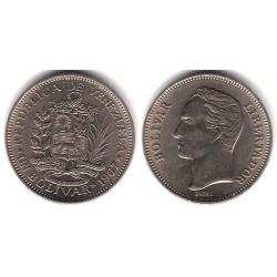 (Y42) Venezuela. 1967. 1 Bolivar (MBC)