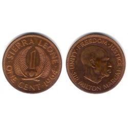 (17) Sierra Leona. 1964. 1 Cent (MBC)