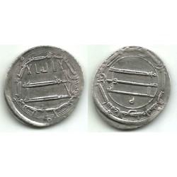 Califato Abasida. 188H. Dirham (MBC+) (Plata) Ceca de Bagdad