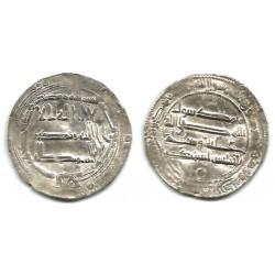 Califato Abasida. 160H. Dirham (MBC-) (Plata) Ceca de Bagdad
