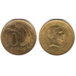 (51) Uruguay. 1968. 10 Pesos (MBC+)