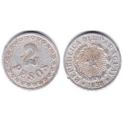 (17) Paraguay. 1938. 2 Pesos (BC)