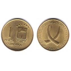 (1) Guinea Ecuatorial. 1969*(19-69). 1 Peseta (SC)
