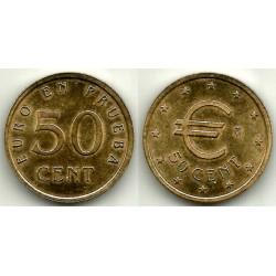 España. 1998. 50 Céntimos (SC) Prueba Churriana