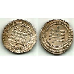Califato Abasida. 329H. Dirham (MBC) (Plata) Ceca de Bagdad