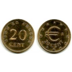 España. 1998. 20 Céntimos (SC) Prueba Churriana