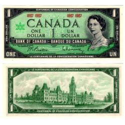 (84a) Canadá. 1967. 1 Dollar (SC)