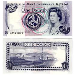 (40c) Isla de Man. 2009. 1 Pound (SC)