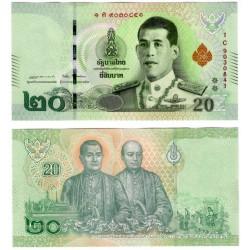Tailandia. 2018. 20 Baht (SC)