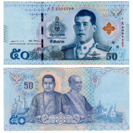 Tailandia. 2018. 50 Baht (SC)