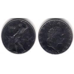 (95.2) Italia. 1992. 50 Lira (EBC)