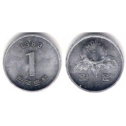 (31) Corea del Sur. 1983. 1 Won (SC)