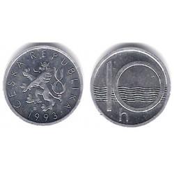 (6) República Checa. 1993. 10 Haleru (SC)
