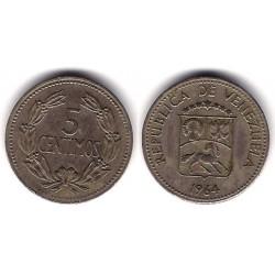 (Y382) Venezuela. 1964. 5 Céntimos (EBC)