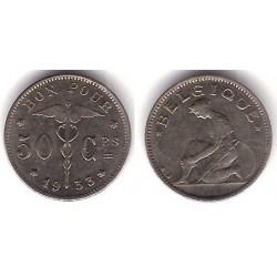 (88) Bélgica. 1933. 50 Ctmes (MBC+)