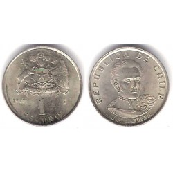(197) Chile. 1972. 1 Escudo (MBC+)