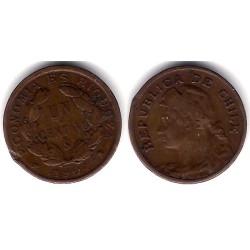 (161) Chile. 1904. 1 Centavo (BC)