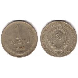 (Y134a.2) Unión Soviética. 1964. 1 Rouble (MBC-)