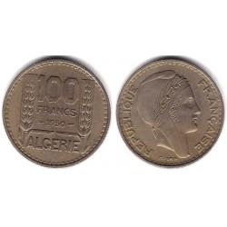 (93) Algeria. 1950. 100 Francs (MBC)