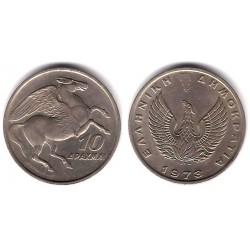 (110) Grecia. 1973. 10 Drachma (SC)