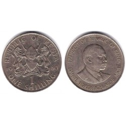 (20) Kenia. 1980. 1 Shilling (MBC)