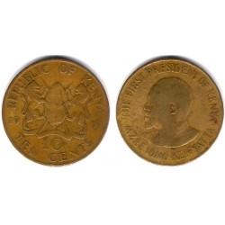 (11) Kenia. 1971. 10 Cents (RC)